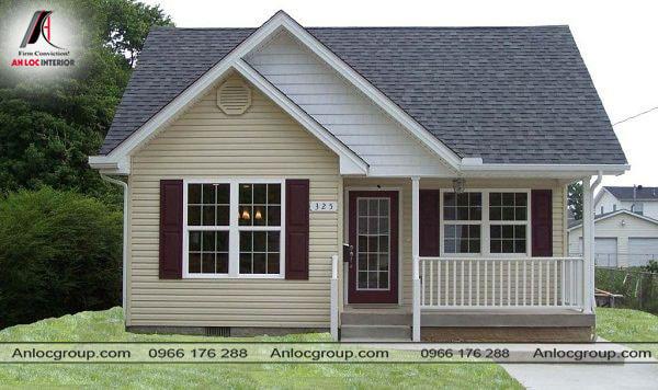 Mẫu 22 - Ngôi nhà nhỏ được thiết kế đơn giản nhưng đầy tinh tế