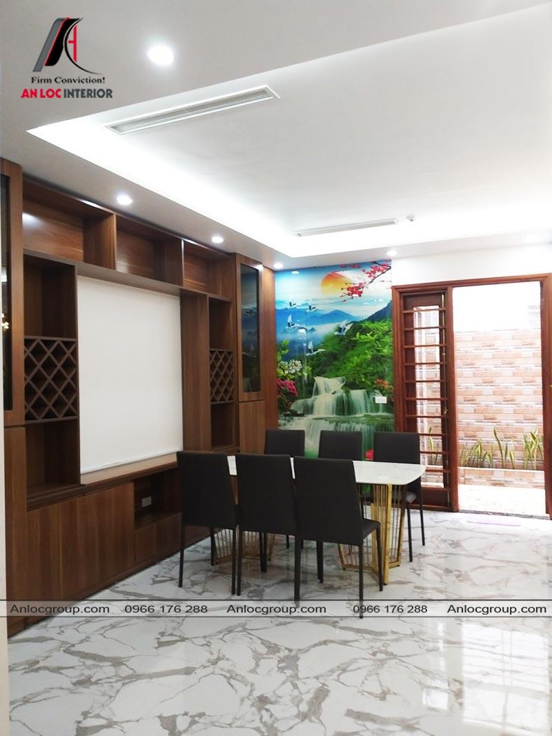 Nội thất phòng bếp biệt thự Ciputra Tây Hồ