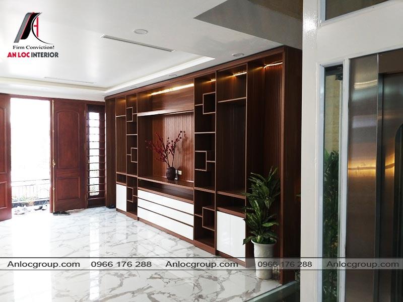 Nội thất phòng khách biệt thự Ciputra Tây Hồ - Ảnh 4