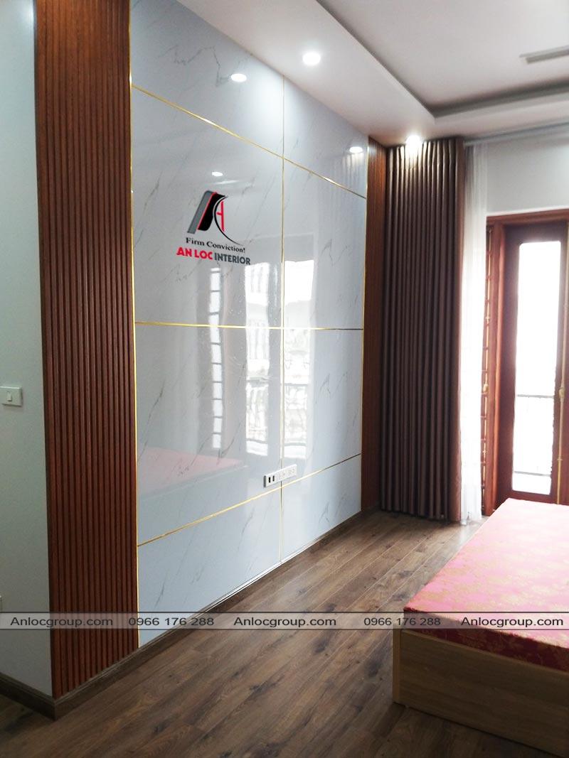 Nội thất phòng ngủ biệt thự Ciputra Tây Hồ 140m2
