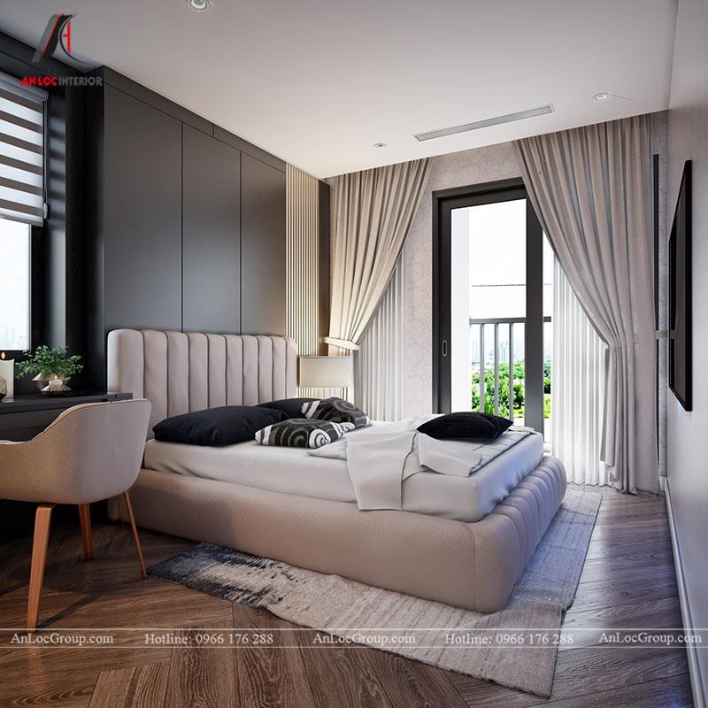Thiết kế phòng ngủ hiện đại mang nét riêng biệt