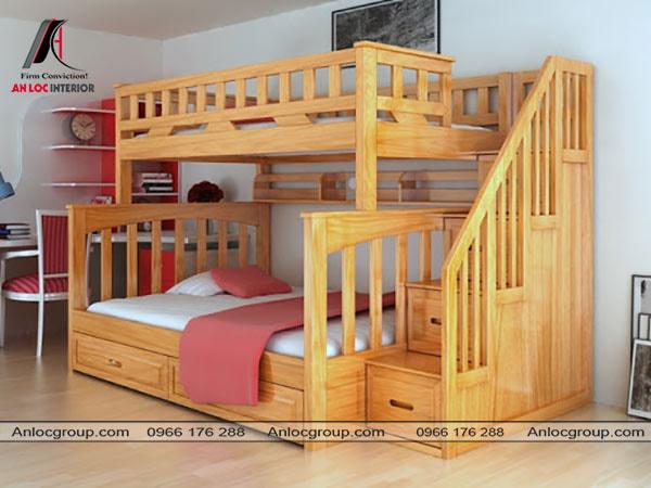 Mẫu 21 - Thiết kế giường tầng kiểu cách hiện đại