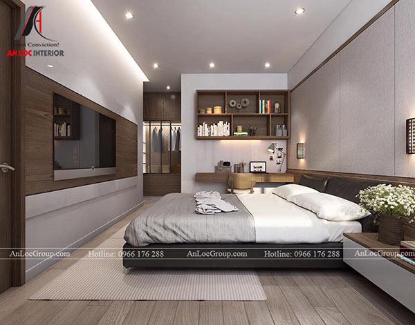 Thiết kế căn hộ 80m2 tại Imperial Plaza 360 Giải Phóng