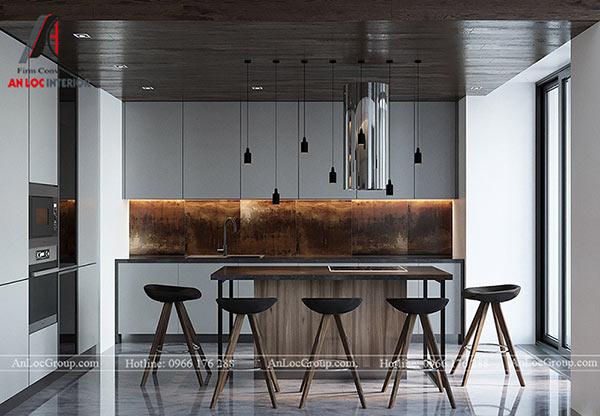 Thiết kế phòng bếp đậm chất châu âu