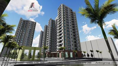 Thiết kế kiến trúc dự án nhà chung cư tại Giai Phạm, Yên Mỹ, Hưng Yên
