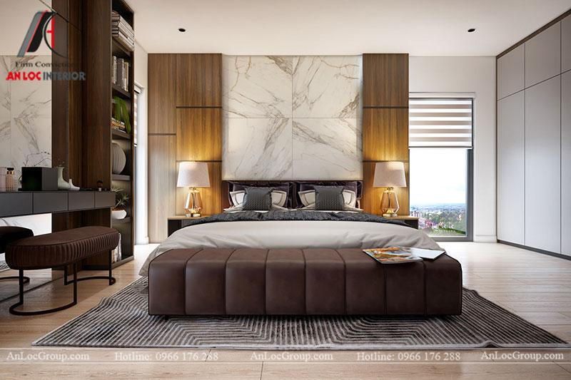Thiết kế nội thất biệt thự hiện đại tại Khai Sơn Hill