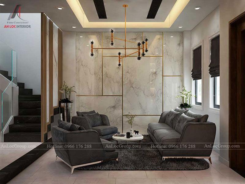 Thiết kế nội thất biệt thự Lake View City