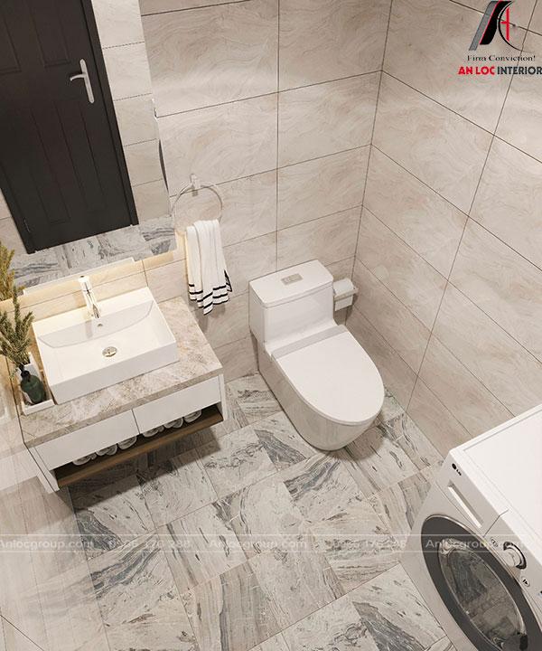 Phòng tắm tiện nghi, hiện đại