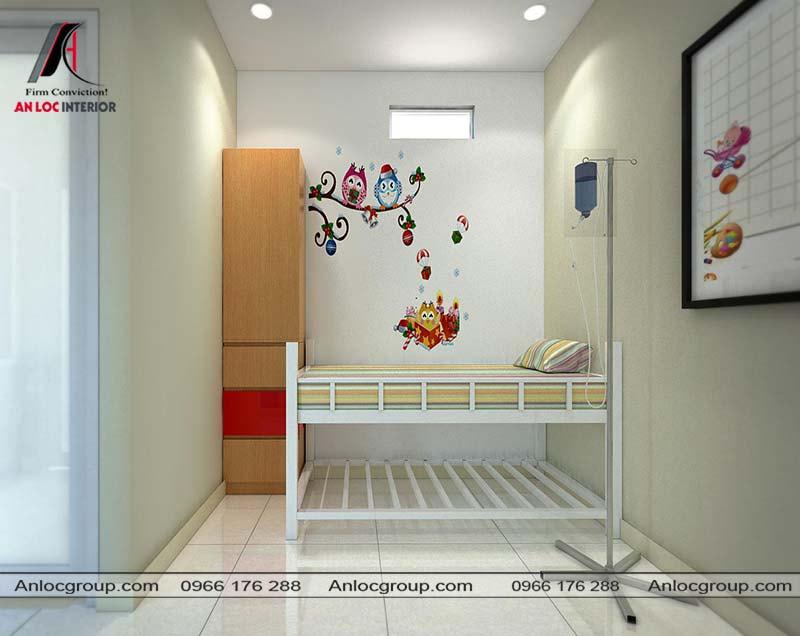 Thiết kế phòng y tế trường mầm non