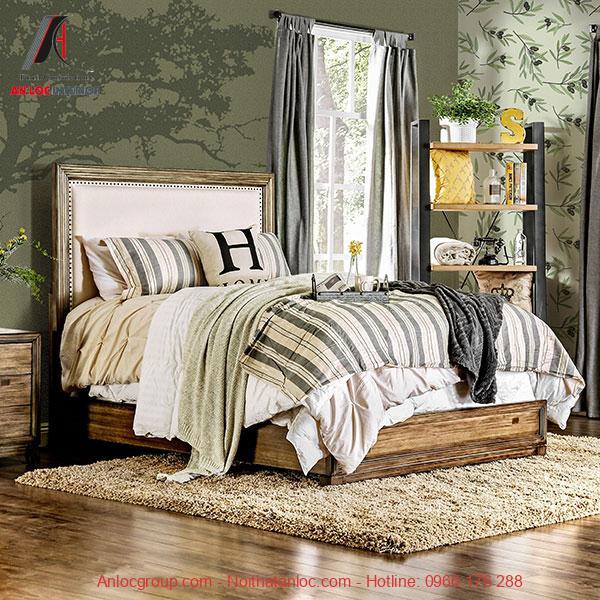 Giưởng ngủ gỗ Tần Bì
