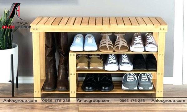 Tủ giầy gỗ Pallet