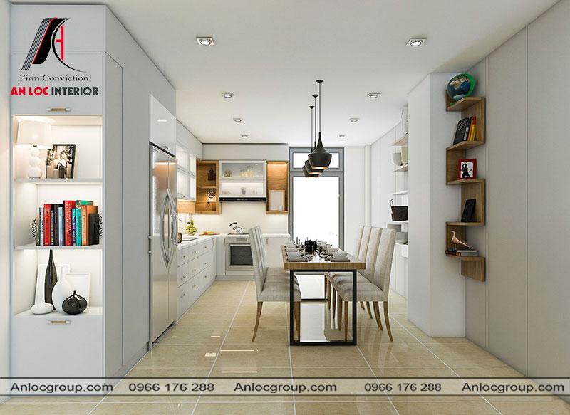 Mẫu thiết kế nội thất nhà ống tại Đà Nẵng