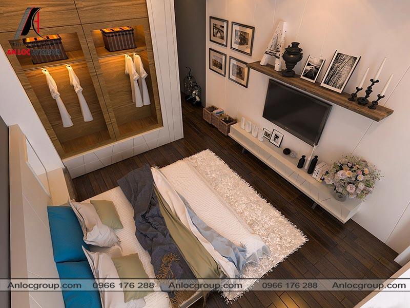 Mẫu thiết kế nội thất nhà ống tại Đà Nẵng phòng ngủ master