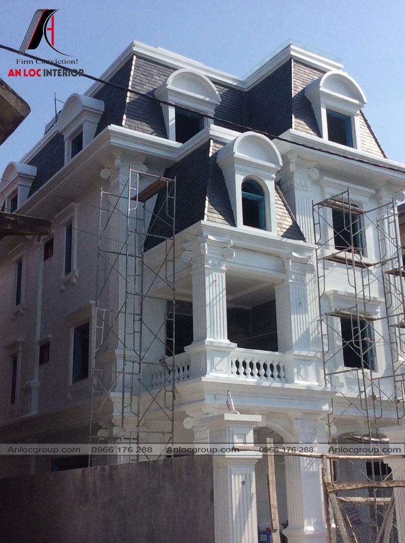 Thi công xây dựng biệt thự Sài Đồng 150m2
