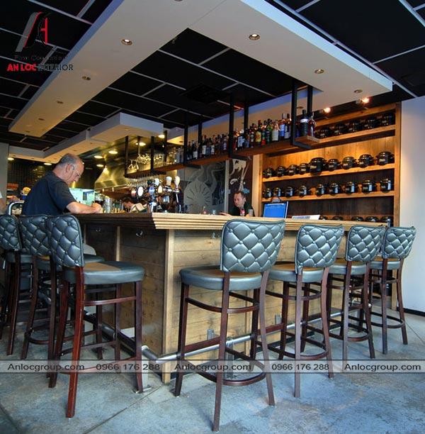 Mẫu 41 - Thiết kế nhà hàng phong cách Vintage
