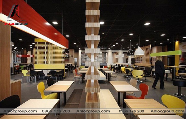 Mẫu 26 - Thiết kế nhà hàng sang trọng