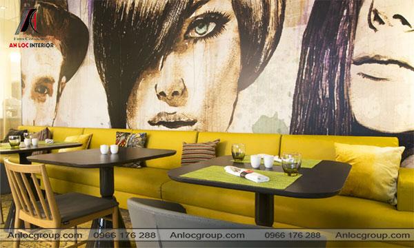 Mẫu 21 - Trang trí nhà hàng đẹp