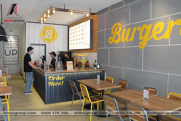 Mẫu 23 - Thiết kế nhà hàng nhỏ đẹp
