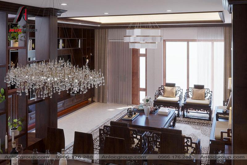 Thiết kế nội thất nhà liền kề tại KĐT Westpoint, Hà Nội