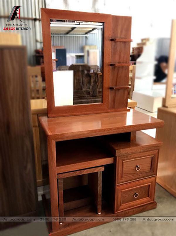 Mẫu 13 - Bàn trang điểm gỗ Tần Bì phong cách hiện đại
