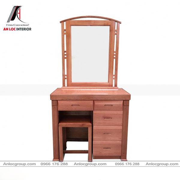 Mẫu 6 - Tủ trang điểm đẹp gỗ Xoan Đào
