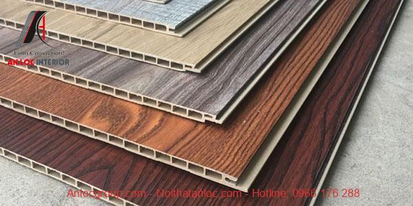 Họa tiết đa dạng, màu sắc gỗ phong phú