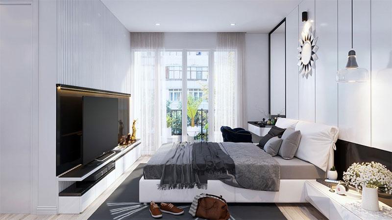 Màu sắc phòng ngủ cần có sự tươi sáng