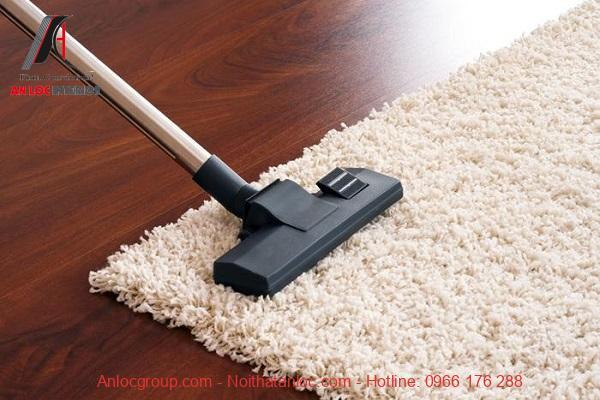 Chú ý cách thức vệ sinh và bảo quản thảm