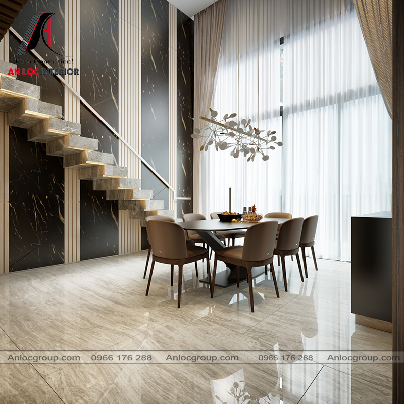 Thiết kế căn Duplex tại The View Riviera Point 138m2