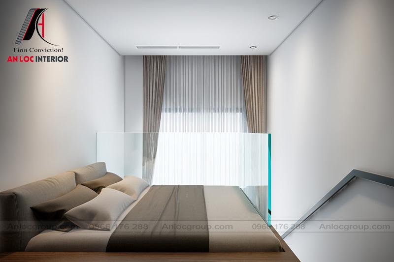 Thiết kế căn Duplex tại The View Riviera Point - Phòng ngủ nhỏ 2