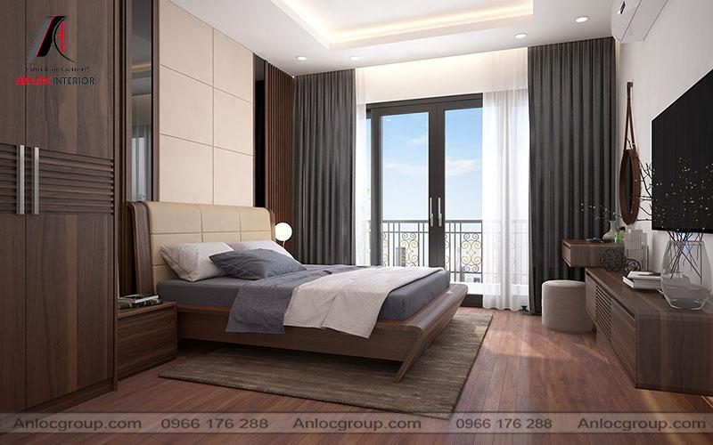 Mẫu 20 - Thiết kế phòng ngủ hiện đại sang trọng