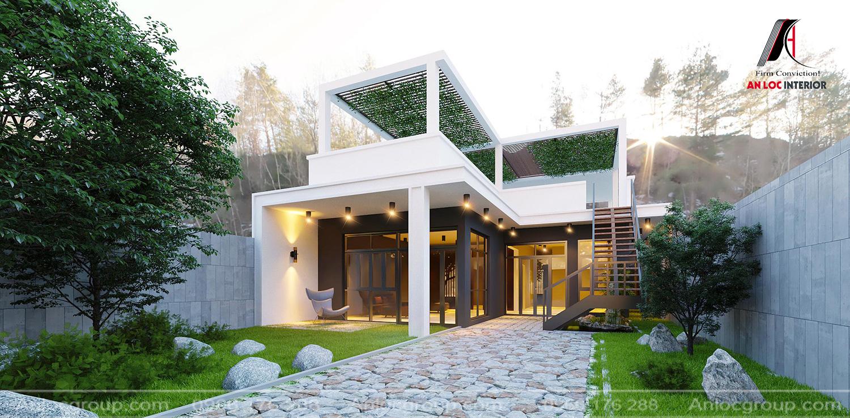An Lộc thiết kế kiến trúc nhà đẹp