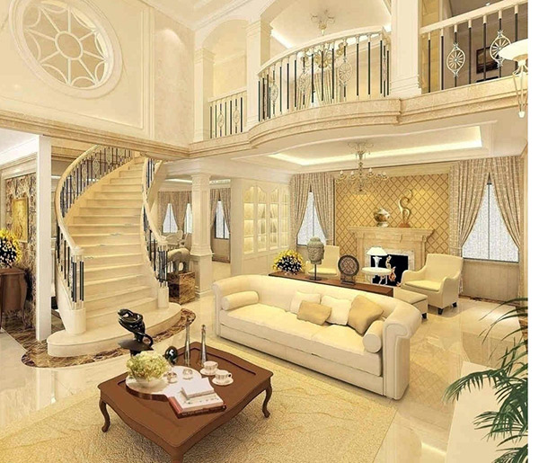 Không gian sang trọng với bố trí nội thất tinh tế, ấn tượng