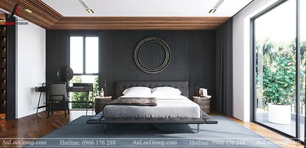 Lựa chọn gam màu phòng ngủ phù hợp với tổng thể kiến trúc