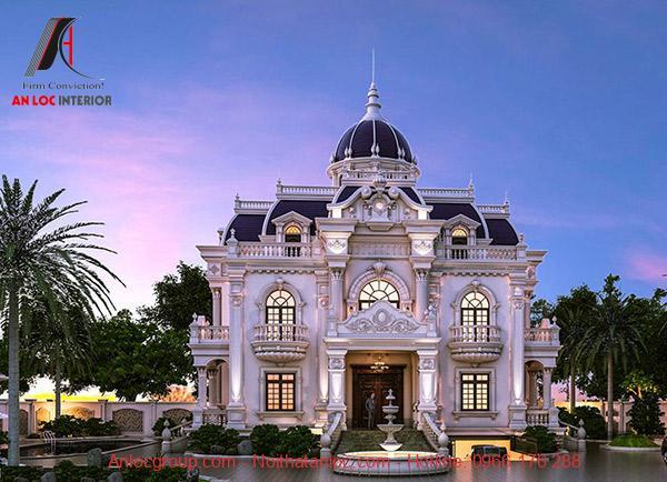 Kiến trúc tân cổ điển là sự giao hòa giữa cổ điển và hiện đại
