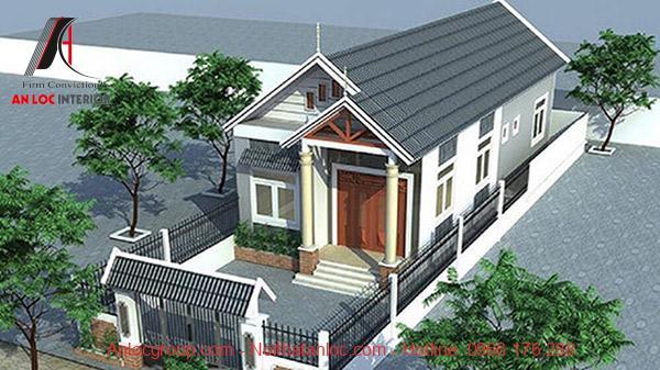 Thiết kế nhà ống mái thái với kiến trúc đặc trưng cùng với đó là sắp đặt không gian hợp lý