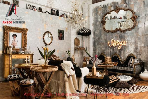 Tham khảo cách trang trí quán Cafe theo phong cách Bohemian