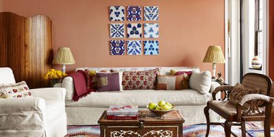 Phong cách Bohemian trong nội thất phòng khách
