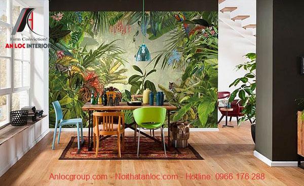Họa tiết Tropical Style