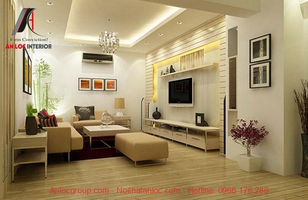 Lựa chọn ghế sofa chữ I phù hợp với diện tích phòng