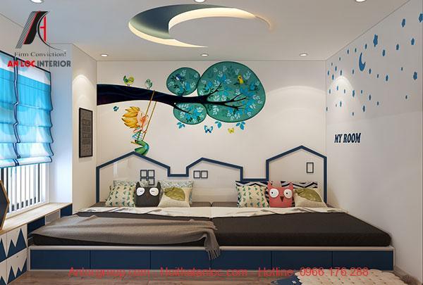 Mẫu 16: Phòng ngủ theo phong cách tối giản