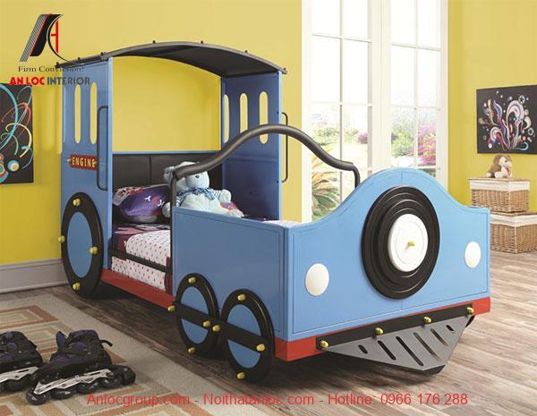 Mẫu 10: Phòng ngủ theo mô hình ô tô đồ chơi
