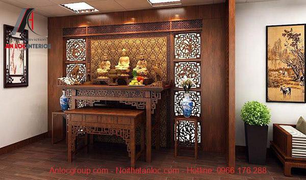 Phòng thời nên đặt ở nơi cao ráo, gọn gàng nhằm thể hiện sự tôn kính với tổ tiên
