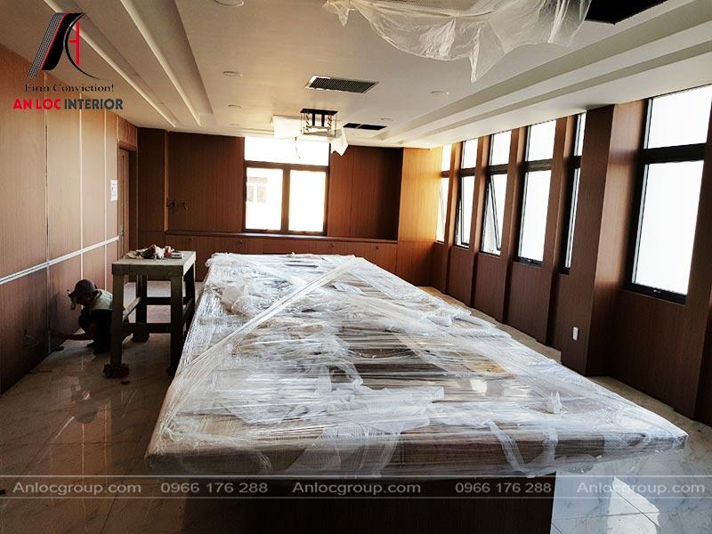 Thi công nội thất toàn nhà văn phòng 8000m2 tại Bình Thuận