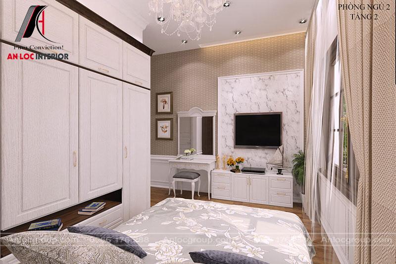 Đồ nội thất được trang bị phù hợp với không gian diện tích mang đến cảm quan mới