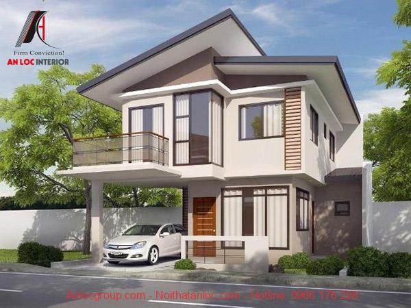 Thiết kế kiến trúc tinh tế mang lại màu sắc hài hòa, tự nhiên cho ngôi nhà