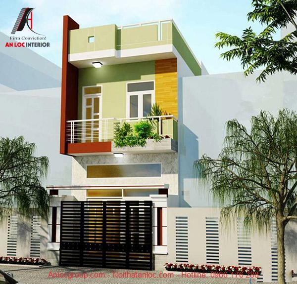 Phối hợp màu sắc hài hòa tạo không gian mở cho ngôi nhà