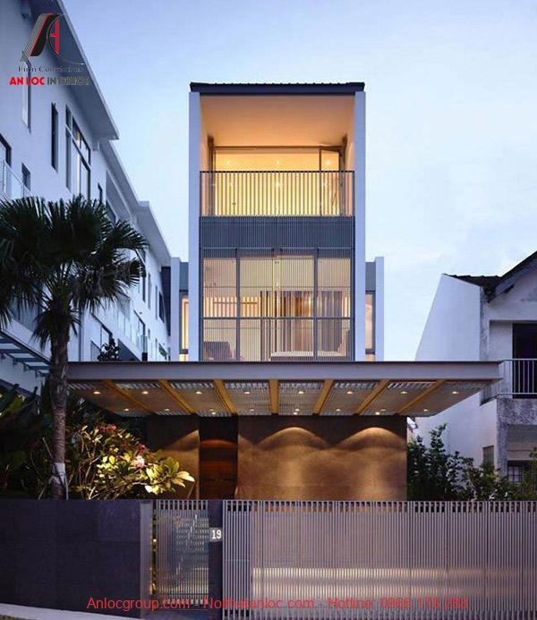 Với thiết kế khung cửa rộng giúp đón nhận ánh sáng tối đa từ thiên nhiên