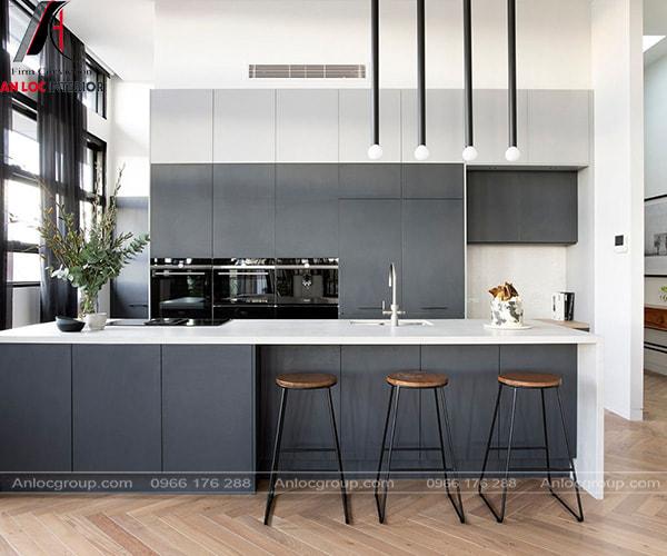 Lựa chọn màu sắc thiết kế nội thất phòng bếp