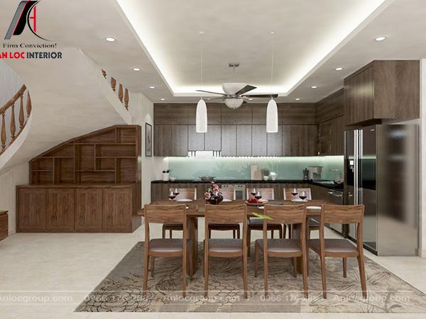 Thiết kế nhà bếp gỗ đẹp